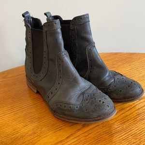 Leather Booties